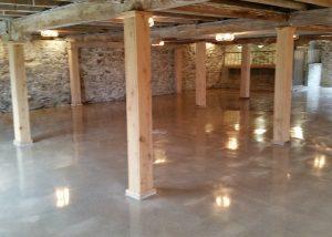 Party Barn Floor
